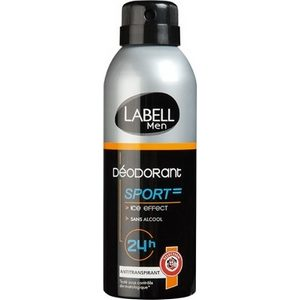Labell déodorant homme sport 200ml