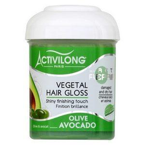 Activilong brillantine olive avocat cheveux secs et abîmés 125ml