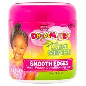 Gel hydratant anti-frisotis African pride Dream kids à l'huile d'olive 170g