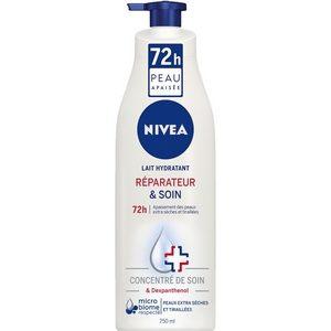 Nivéa lait hydratant réparateur et soin peaux extra sèches et tiraillées 250ml