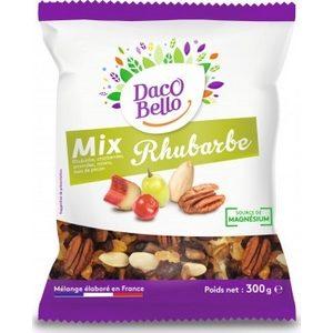 Daco Bello fruits secs mélange rhubarbe le sachet de 300g