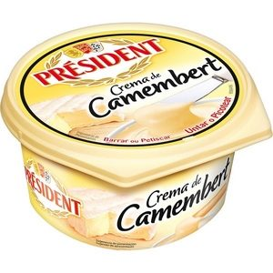 Président crème de camenbert 125g