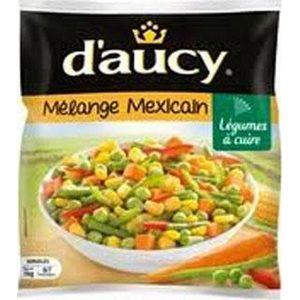 Daucy mélange mexicain surgelé 1kg