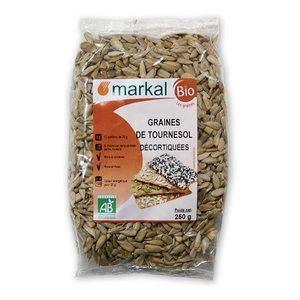 Markal Bio graines de tournesol décortiquées 250g