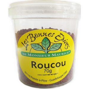 Les bonnes épices de Monsieur Maurice roucou 70g