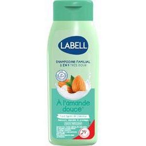 Labell shampooing très doux à l'amande douce 400ml