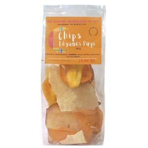 Chips de légumes pays 60g (L.S.G. de Paty )