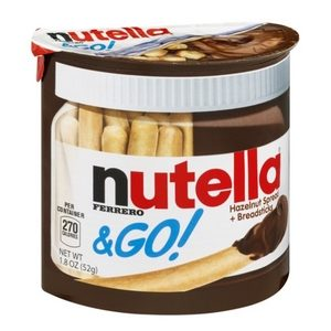 Nutella and Go! Avec bâtonnets céréaliers