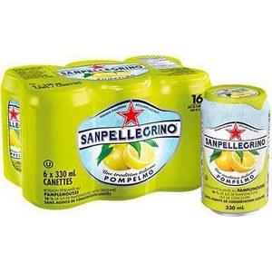 Sanpellegrino boisson pétillante au pamplemousse 6x33cl