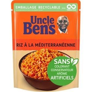 Uncle Ben's en 2 minutes riz cuisiné à la méditerranéenne 250g