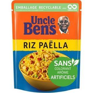 Uncle Ben's en 2 minutes riz cuisiné paëlla 250g