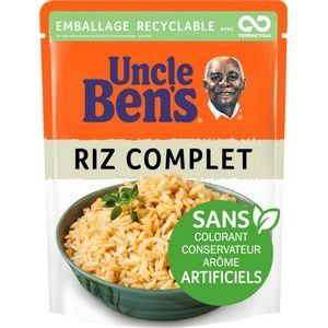 Uncle Ben's en 2 minutes riz complet 250g