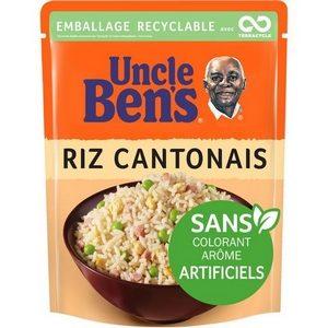 Uncle Ben's en 2 minutes riz cantonais 250g