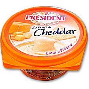 Président crème de cheddar 125g
